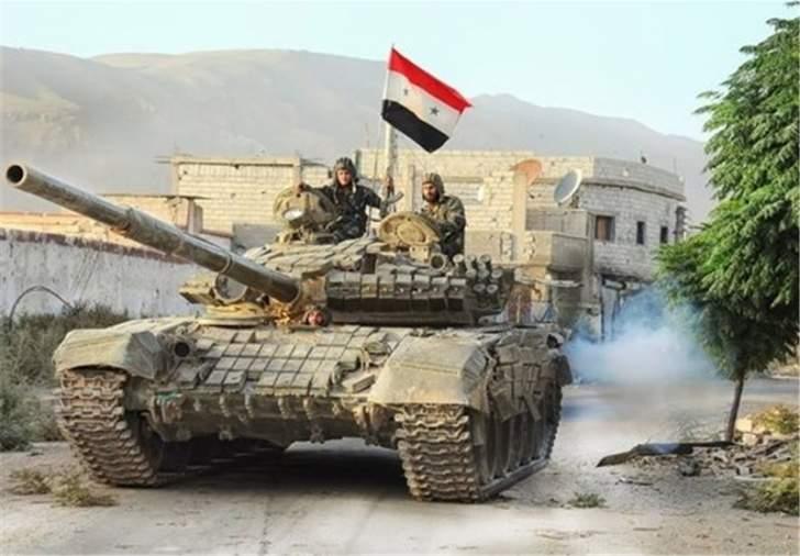 النشرة: الجيش السوري يستعيد السيطرة على بناء الشعيري بوادي بردى