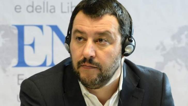 ماتيو سالفيني: ندفع فاتورة عدم استقرار تسببت به فرنسا بليبيا