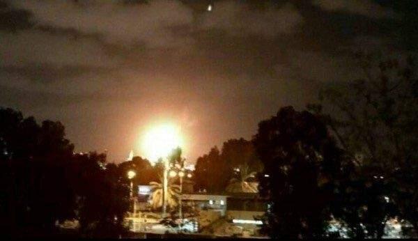 اندلاع حريق هائل في مصافي تكرير النفط في حيفا