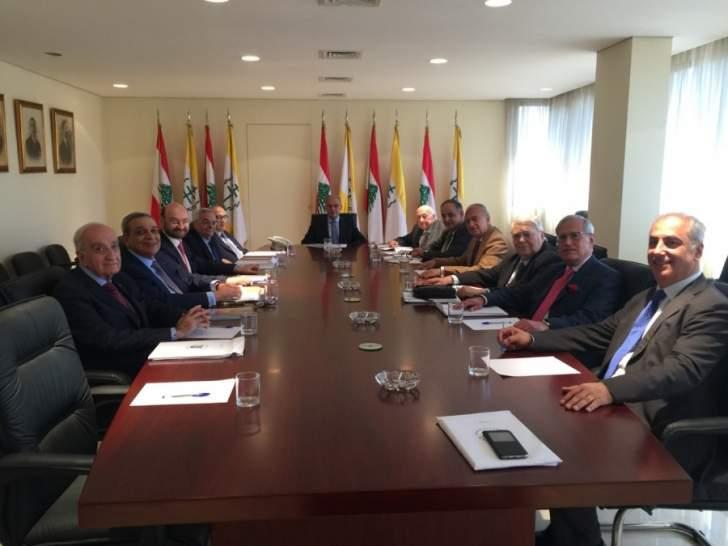 المجلس العام الماروني:للتمسك بإجراء الإنتخابات النيابية بموعدها المحدد