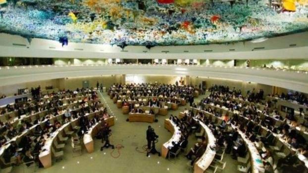 مجلس حقوق الانسان ينتخب المندوب الدائم لسلوفينيا لدى المنظمة الدولية رئيسا له