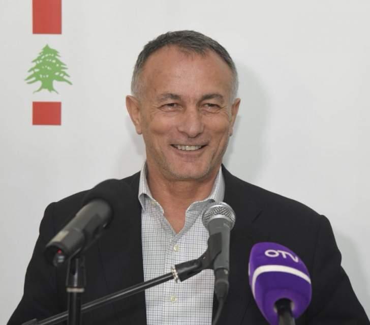 روكز: الفرزلي هو المطروح لنيابة رئاسة المجلس والمرشح الوحيد للرئاسة هو برّي