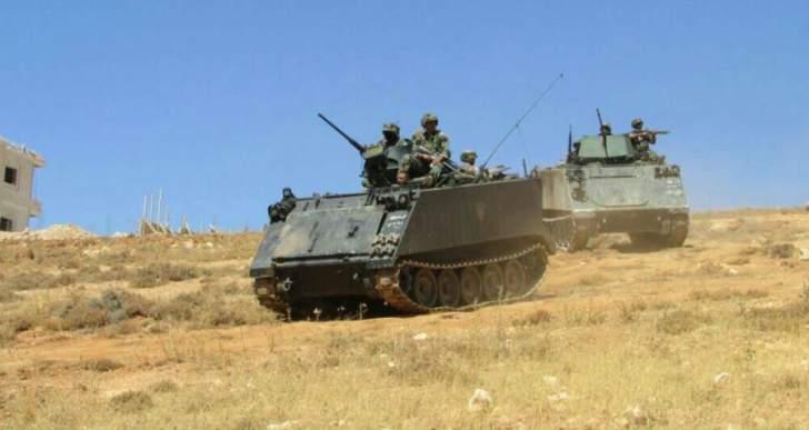 عملية أمنية للجيش بعرسال أدت لمقتل الرأس المدبر لتفجيرات رأس بعلبك