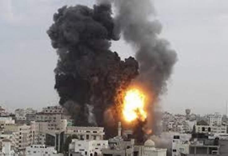 RT: الموقع المستهدف من قبل مقاتلة إسرائيلية في حسياء تابع لحزب الله