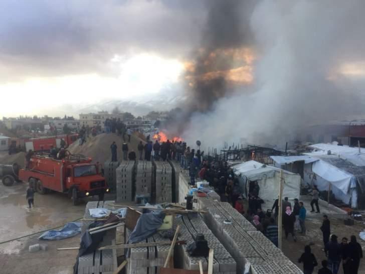 النشرة: ارتفاع عدد القتلى في مخيم النازحين في غزة بالبقاع الى 9 أشخاص