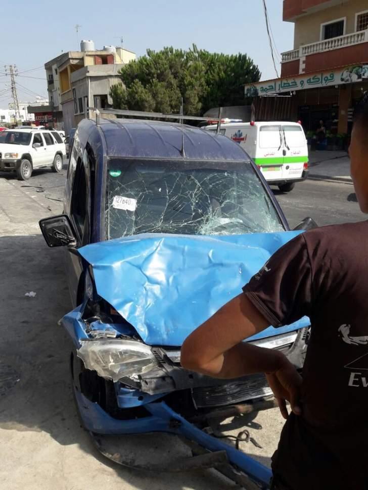 قتيل نتيجة تصادم بين سيارة ودراجة نارية على طريق عام النبطية