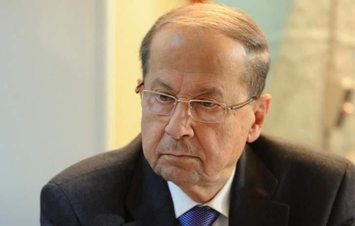 الرئيس عون: حرب الجيش على الارهاب تتم دائما بناء على توجيهات السلطة