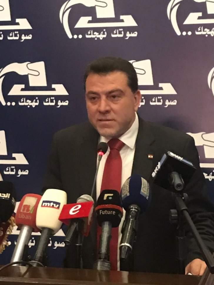 يعقوب أعلن عن ترشحه في قضاء زحلة: مأهلون لجعل البقاع منارة على كل المستويات