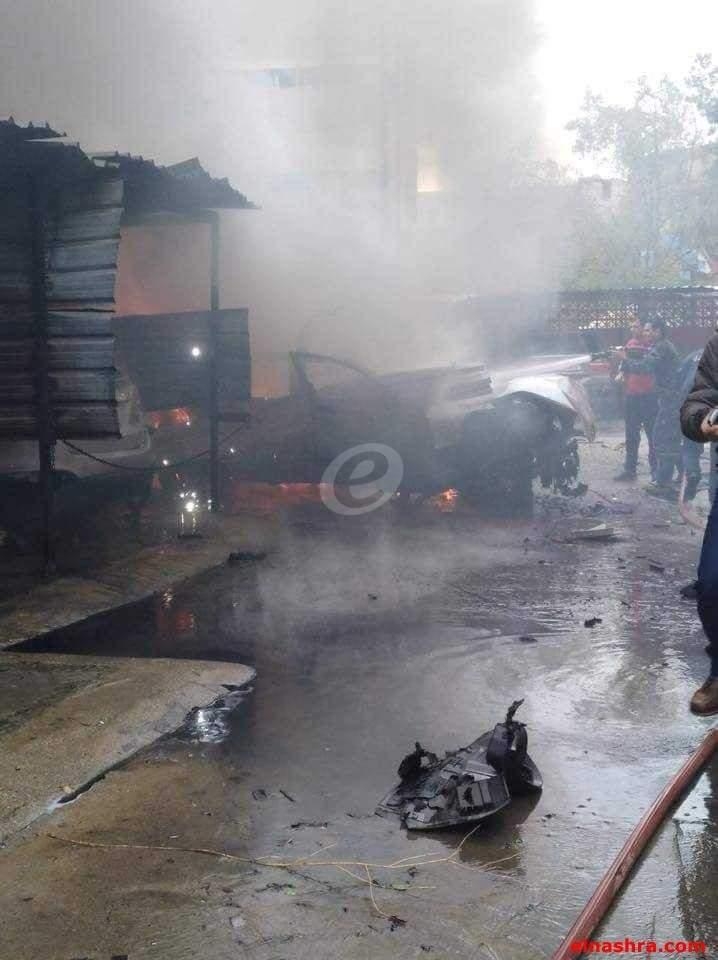النشرة: الخبير العسكري باشر الكشف على مكان الانفجار بصيدا