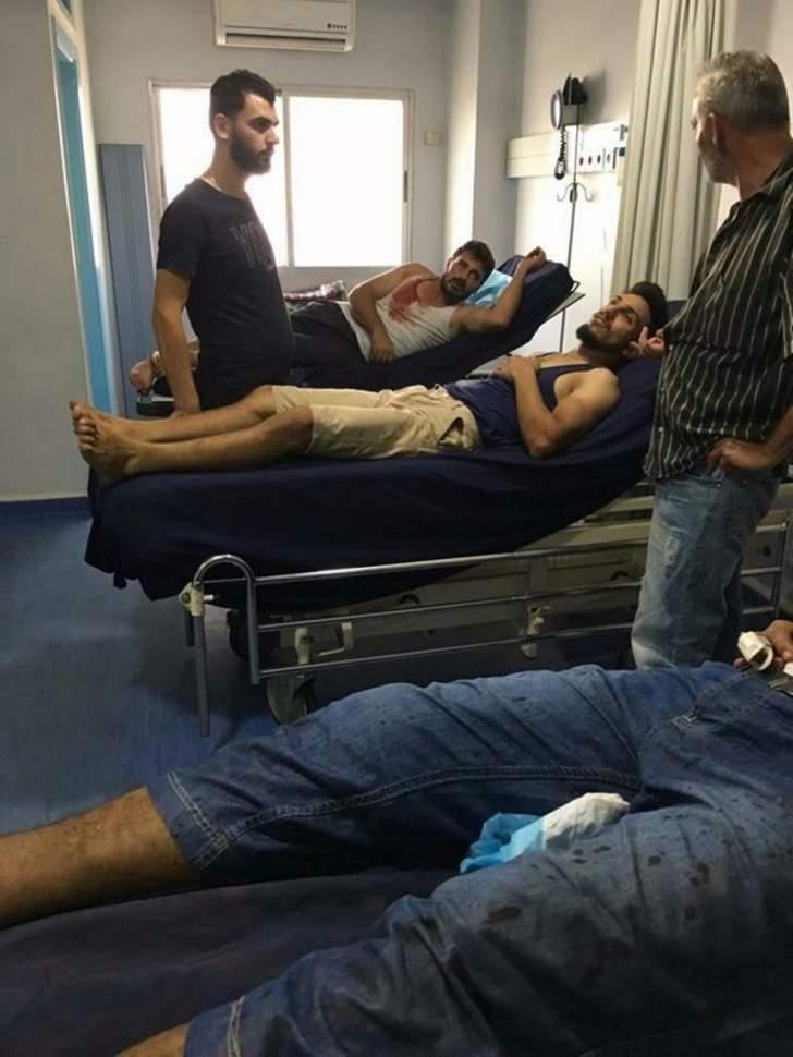 النشرة:اصابة 4 اشخاص خلال اشكال في بلدة المحمرة العكارية