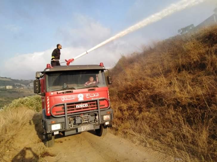 الدفاع المدني: إخماد حرائق ونقل واسعاف 11 حالة طارئة