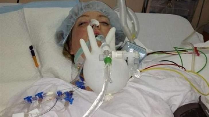 نست عائلتها بعد إفاقتها من غيبوبة