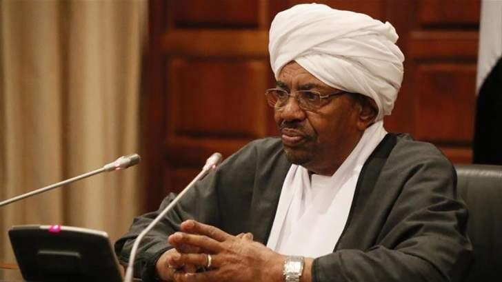 البشير يشكر محمد بن سلمان للمساهمة في رفع العقوبات عن السودان