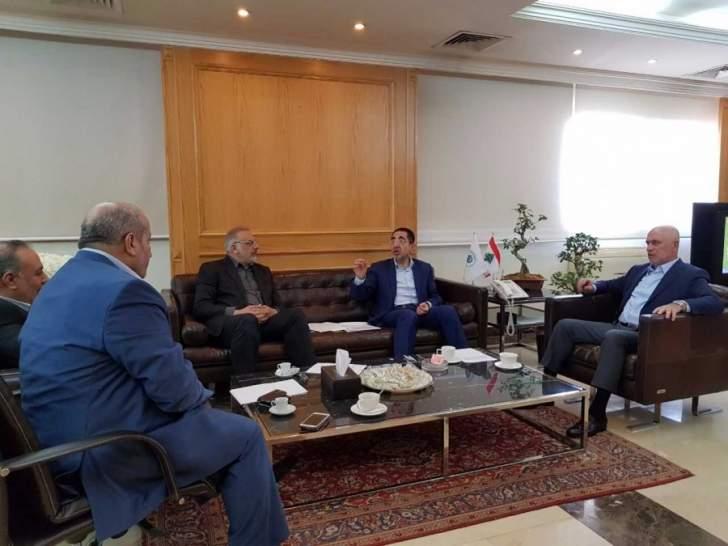 فنيانوس تابع مع الحاج حسن والمقداد وعدد من البلديات مشاريع الوزارة
