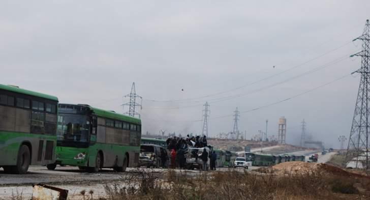 إطلاق سراح القطريين المختطفين بالعراق بالتزامن مع دخول أهالي كفريا والفوعة إلى حلب