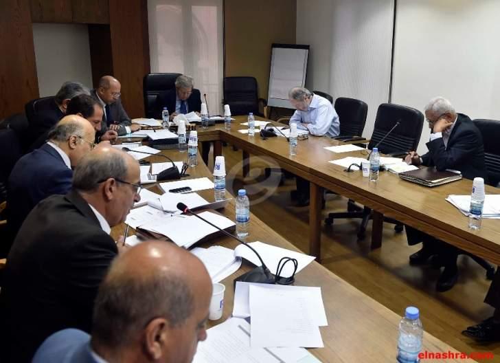 لجنة الادارة تابعت درس مشروع القانون الرامي الى تعديل انشاء التفتيش المركزي