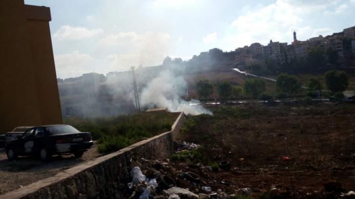 السيطرة على حريق في مخيم للنازحين جنوب شرقي محافظة كركوك