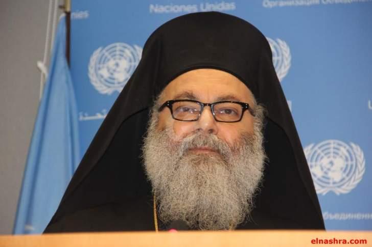 يوحنا العاشر: لتكثيف الجهود لإعادة السلام إلى سوريا ودعم استقرار لبنان