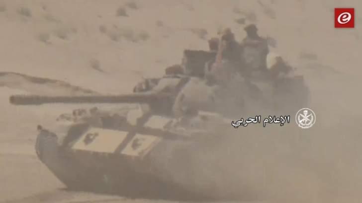 Bulletin: fierce battles fought by the Syrian army to advance towards the city of Deir al-Zour