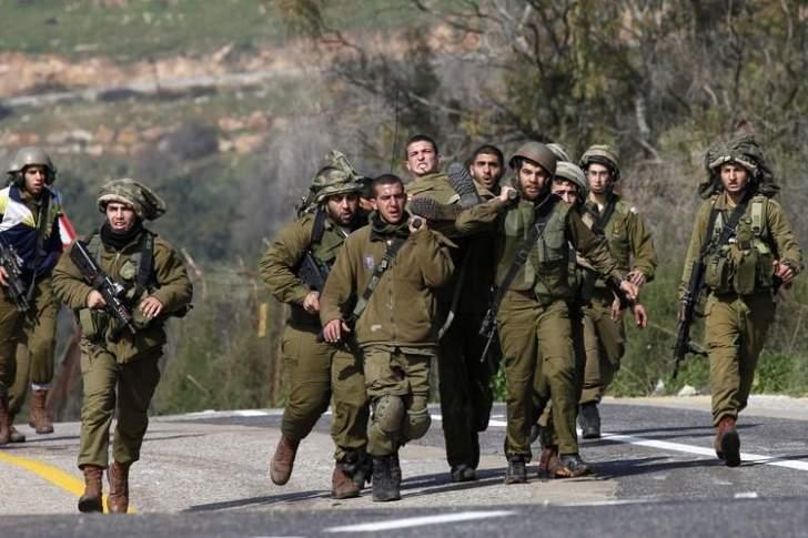 الجيش الاسرائيلي يعتقل 20 فلسطينياً بقرية قصرة في الضفة الغربية