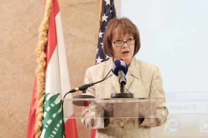 مصادر الـMTV: السفيرة الأميركية تعتبر أن الرئيس عون تخطى الخطوط الحمراء ولوحت بسحب اليونيفيل