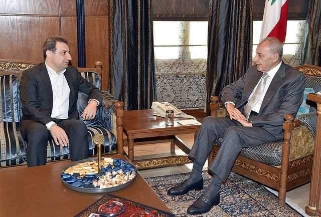 بري بحث مع أبو فاعور الأوضاع العامة والإنتخابات النيابية