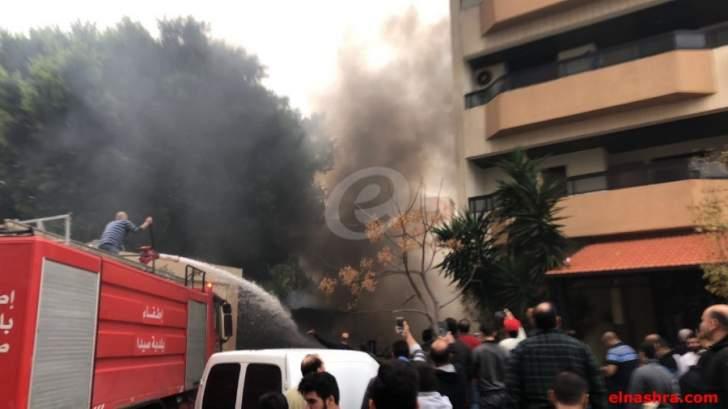 النشرة: مدير فرع مخابرات الجيش في الجنوب تفقد مكان الانفجار في صيدا