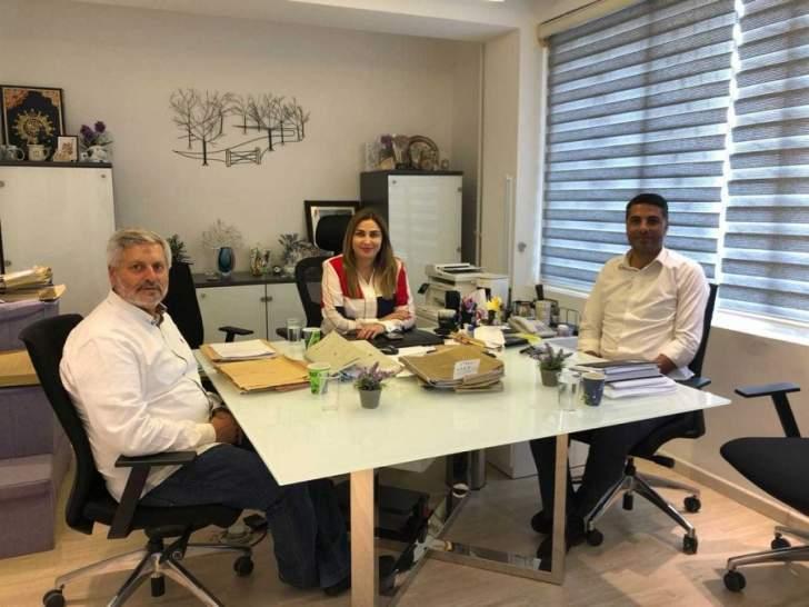 وفد من حزب الله زار رؤساء الدوائر والمصالح الرسمية في صيدا