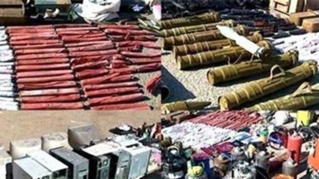 جيش روسيا: العثور على 1.5 طن من المتفجرات في مخابئ المسلحين في دوما