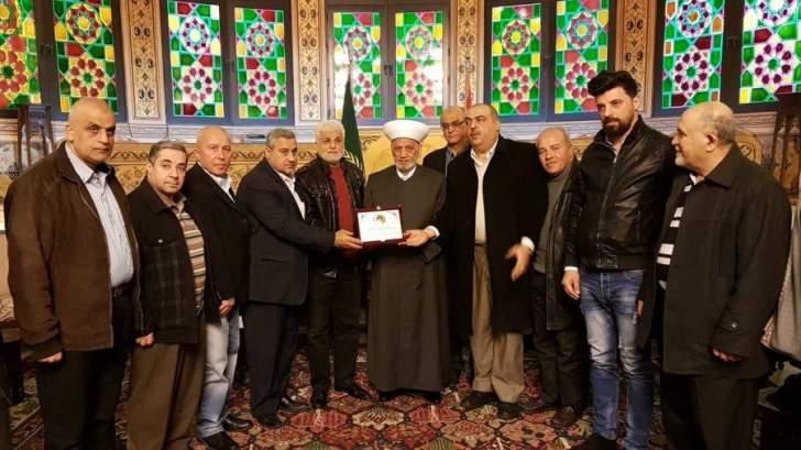 المفتي دريان التقى هيئة العلماء المسلمين وبحث معهم قانون العفو العام