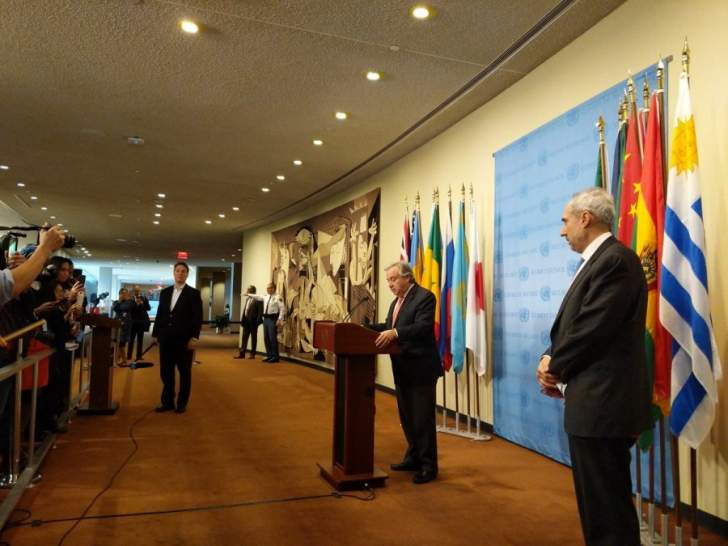 غوتيريس: القرار الأميركي سيهدد السلام بين الفلسطينيين والإسرائيليين