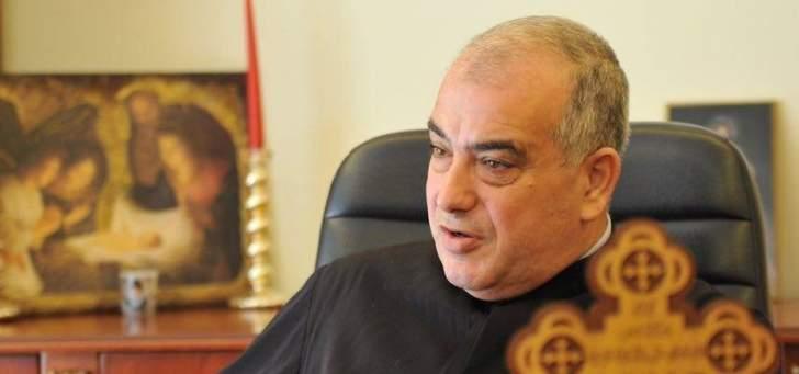 ابو كسم: خطاب القمة الروحية ببكركي تخطى لبنان
