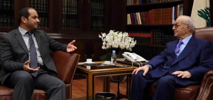 نقلَ إلى المرّ تقدير الإمارات لدوره في تعزيز العلاقات الشامسي لـ«الجمهورية»: إنتظِروا مفاجآت
