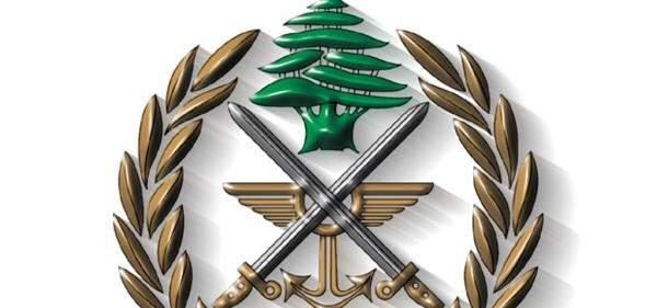 الجيش:مداهمة مخرطة وتوقيف صاحبها مع ولده وهما مطلوبين بجرم حيازة أسلحة