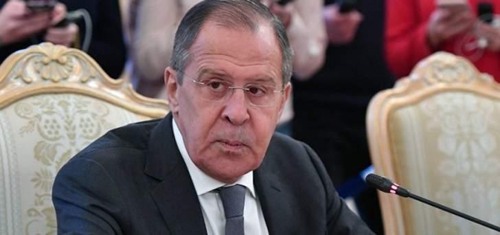 لافروف: سلطات روسيا وتركيا وإيران ستفتح ممرات إنسانية في إدلب