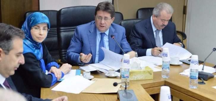 كنعان:لجنة المال والموازنة أكدت أهمية انشاء هيئة وطنية لمكافحة الفساد