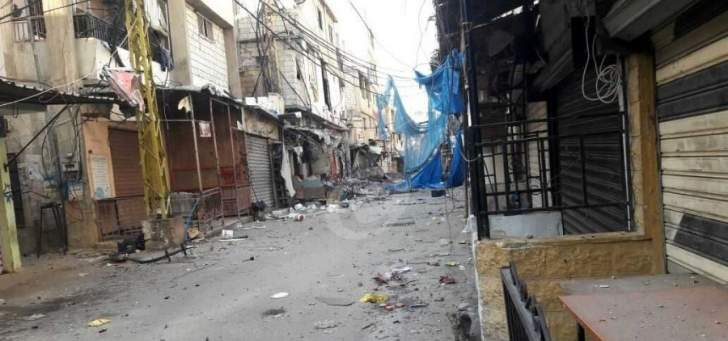 النشرة: اشتباكات في مخيم عين الحلوة بين حركة فتح وناشطين إسلاميين