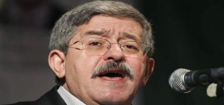 رئيس حكومة الجزائر:هل دورنا هو بناء علاقات مع الدول أم الدخول بمتاهات؟
