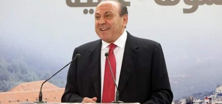 انيس نصار: انا مرشح لمنصب نائب رئيس المجلس النيابي