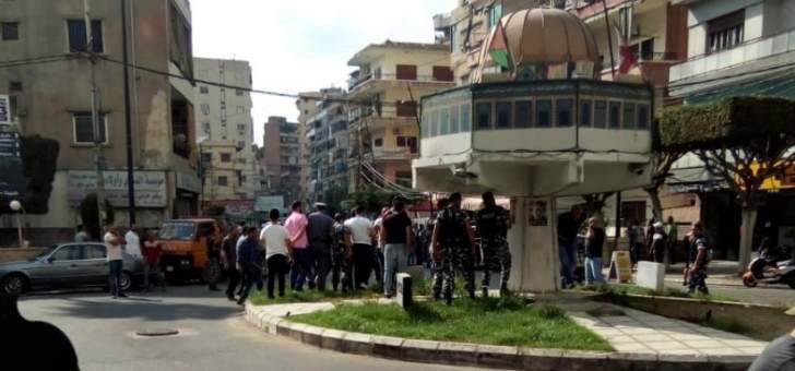 إشكال وإطلاق نار بصيدا من قبل أحد حراس الشيخ ماهر حمود على دورية أمنية