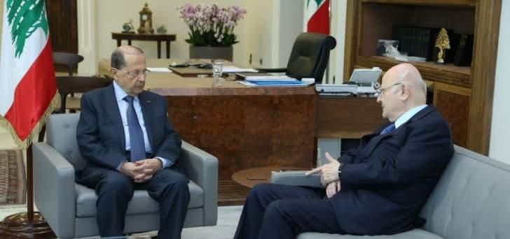 الرئيس عون استقبل النائب جان عبيد