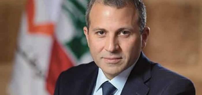 باسيل: موقف ترامب معاكس لاتجاه السلام ولا يمكن خلق فتنة بين اللبنانيين
