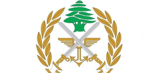 الجيش: عملية دهم في بعلبك وتوقيف مطلوب وضبط كمية من مادة حشيشة الكيف
