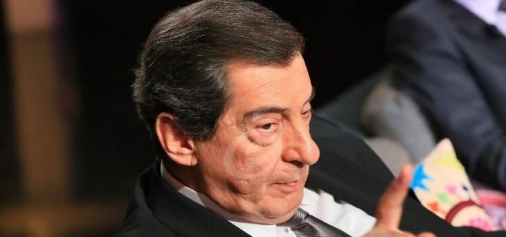 """ايلي الفرزلي لـ""""النشرة"""": نتوقع نهايات سعيدة للمشاورات التي يجريها الرئيس عون ومسببو الأزمة لبنانيون استدرجوا السعوديين"""