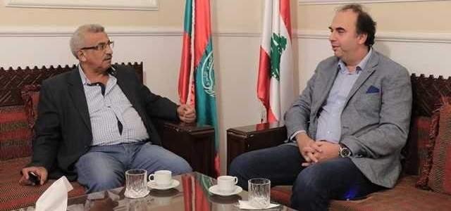 سعد بحث مع مدير عام مؤسسة مياه الجنوب في تحسين مستوى تأمين المياه لصيدا