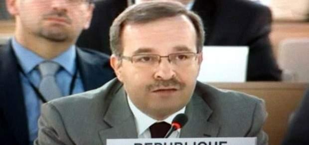 مندوب سوريا بالأمم المتحدة:بن الجسين بتبني روايات غير موضوعية حول الأحداث بسوريا