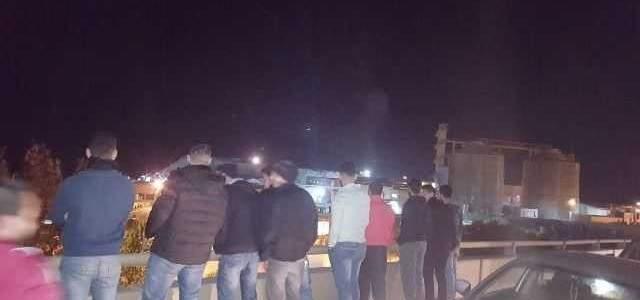 النشرة: اعتصام امام معمل معالجة النفايات الصلبة في سينيق صيدا