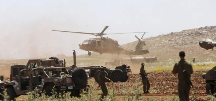تدريبات إسرائيلية على الحدود وترسيم الحدود في اللقاء الثلاثي!