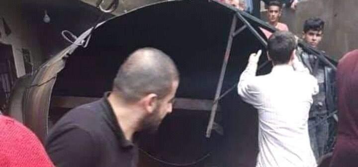 سقوط 3 جرحى بانفجار خزان غاز فارغ في فنيدق