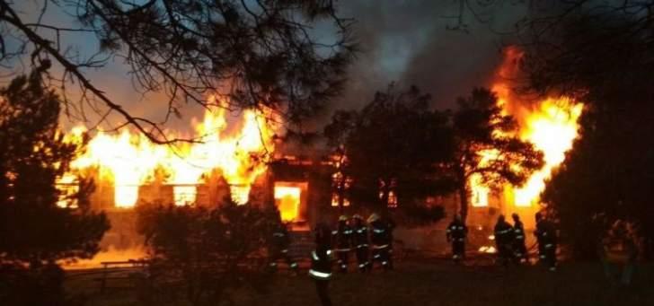 مقتل 24 شخصا في حريق بمركز لعلاج مدمني المخدرات في باكو بأذربيجان